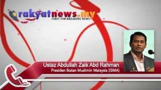 ISMA  Tuntutan COMANGO Bertentangan Al Quran Dan Sunnah