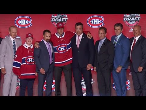 Canadiens draft two-way centre Poehling with 25th pick