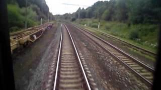 preview picture of video 'ZSSK: Trat' 106/105 Žilina - Vrútky - Kraľovany - Štrba - Poprad-Tatry (100%)'