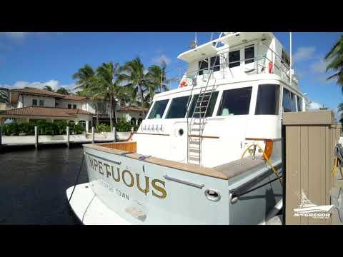 Feadship Yacht Fisherman video