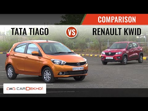 Tata Tiago vs Renault Kwid | Comparison Review