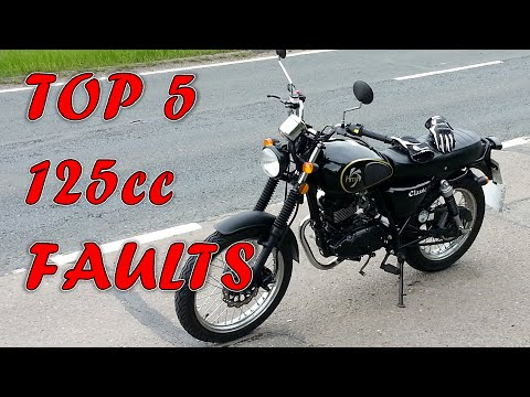 Top 5 125cc Motorcycle Faults and How to Fix Them
