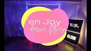 GLOWfit aerobic glowstick drums routine with 'en Joy dance fitness Hampshire & online