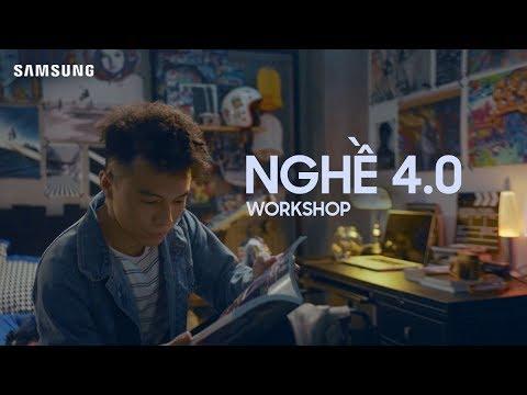 Tham gia workshop Nghề 4.0