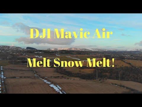 DJI Mavic Air Stock Settings Cruising Around