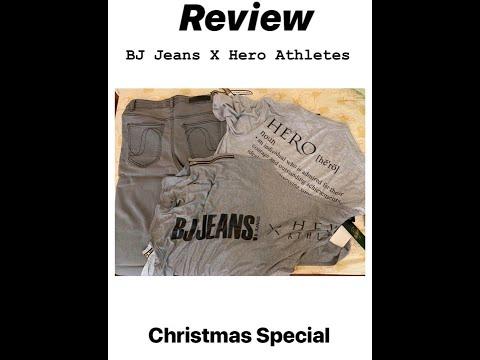 รีวิว BJ Jeans X Hero Athletes