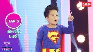 Biệt Tài Tí Hon 2|Tập 6: Trấn Thành, Will thích thú với superman nhí cute hết cỡ thông minh có thừa