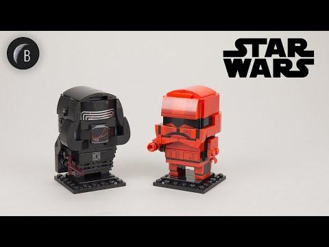 Vidéo LEGO BrickHeadz 75232 : Kylo Ren et soldat Sith