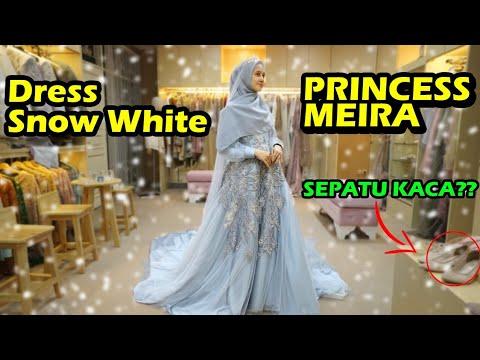 FROZEN WEDDING DRESS PRINCESS MEIRA 😍