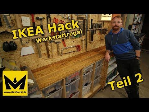 IKEA Hack - Werkstattregal aus SAMLA Boxen - Teil 2