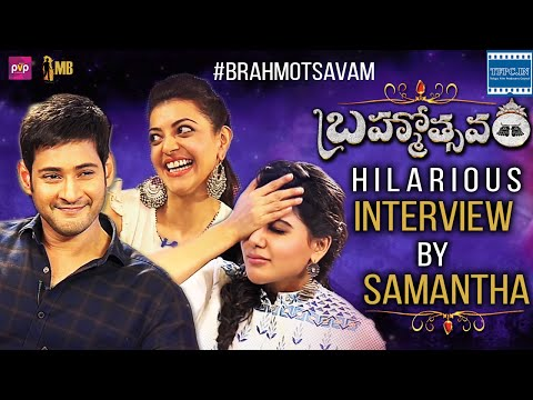 Brahmotsavam Team Hilarious Interview