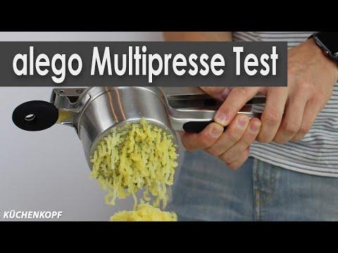 alego Multipresse Test | Kartoffelpresse Test | Spätzlepresse Test