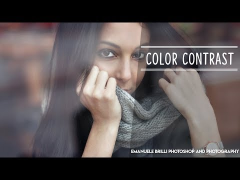 Color Contrast in Photoshop – Tutorial