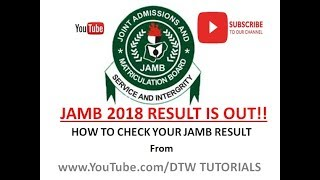 How To Check Your Jamb Result