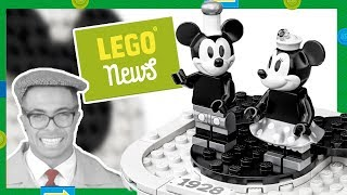 LEGO Steamboat Willie to Celebrate Mickey Mouse Birthday! LEGO Marvel Games Collection, New LEGO Mug