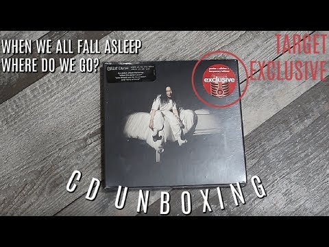"""Billie Eilish: """"When We All Fall Asleep Where Do We Go?"""" TARGET EXCLUSIVE CD UNBOXING 