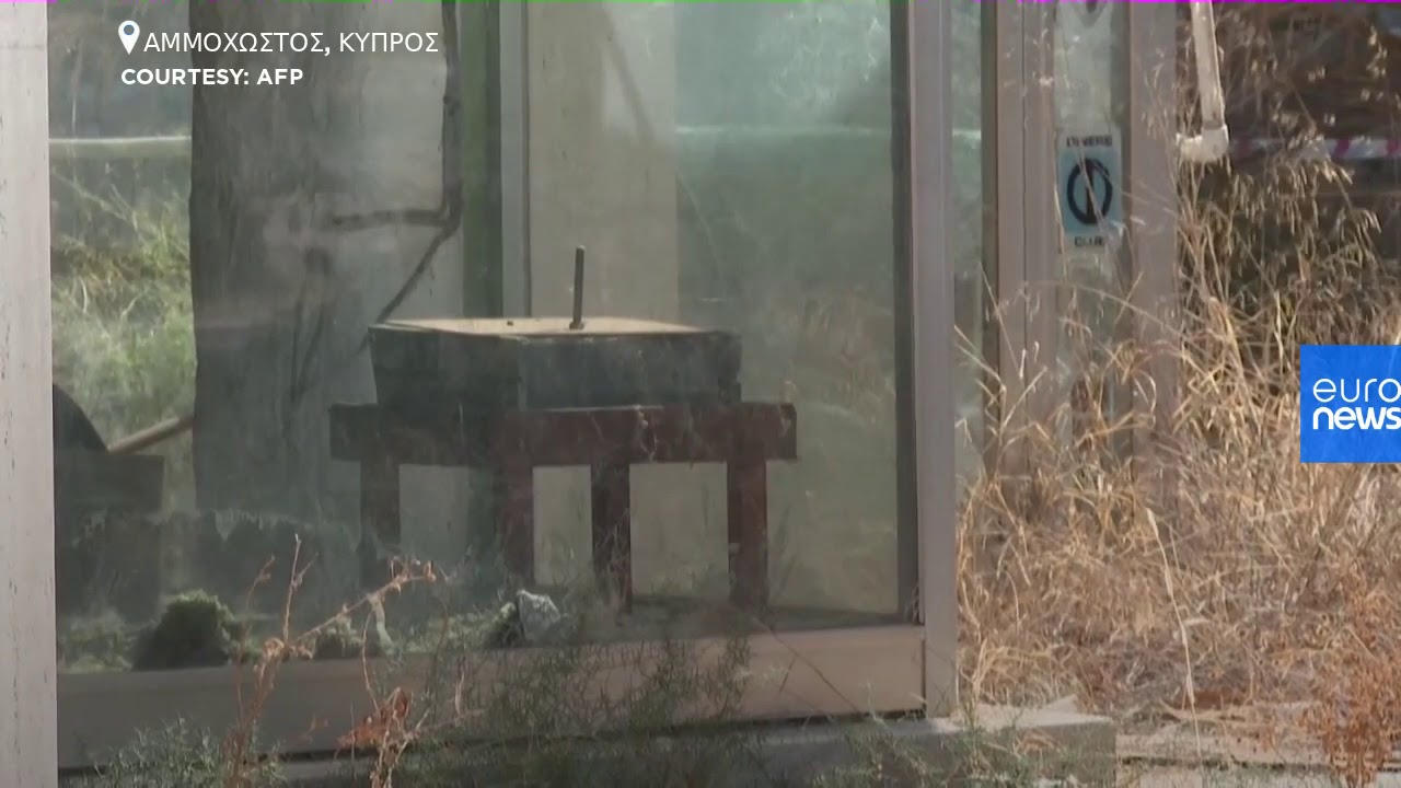 Κύπρος: Εικόνες από την περίκλειστη πόλη της Αμμοχώστου (2)