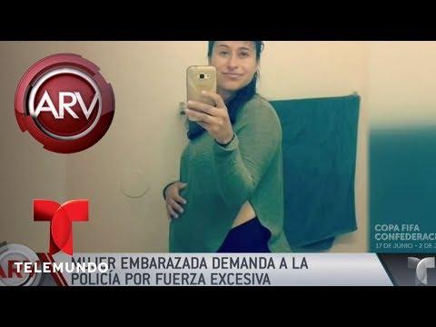Mujer demanda a la policía por uso de fuerza y ser tratada como criminal   Al Rojo Vivo   Telemundo