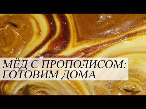 Готовим мёд с прополисом дома