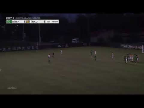 Gol | PEDRO BECKER | 20.09.2017 - NCAA Men's Soccer | Northern Kentucky 2 x 2 Marshall University
