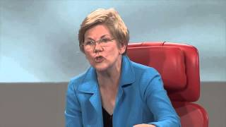 Senator Elizabeth Warren is mad as hell at the influence of money in Washington DC