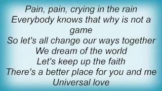 2 Fabiola - Universal Love Lyrics