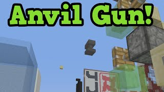 Minecraft Xbox One / PS4 - ANVIL SHOOTER Tutorial - SlimeBlock Creation