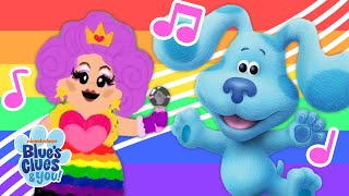 The Blue's Clues Pride Parade 🏳️🌈  Sing-Along Ft. Nina West!
