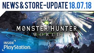 Monster Hunter World: Frische Quests & neues Loot im Sommer Event   PlayStation News & Store Update
