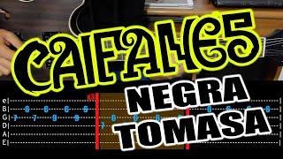 """Cómo Tocar """"La Negra Tomasa"""" De """"Caifanes"""" En Guitarra"""