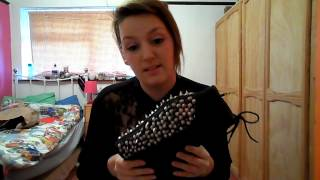 Jeffrey Campbell Shoe Unboxing: Spiked Damsels