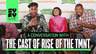 The Rise Of Teenage Mutant Ninja Turtles Will Make You Laugh In This Interview (We Bet) | SYFY WIRE
