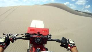 1986 Yamaha Tri-Z Dune Riding