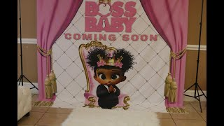 EPIC GIRL BOSS BABY  SHOWER