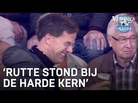 Mark Rutte is een hooligan