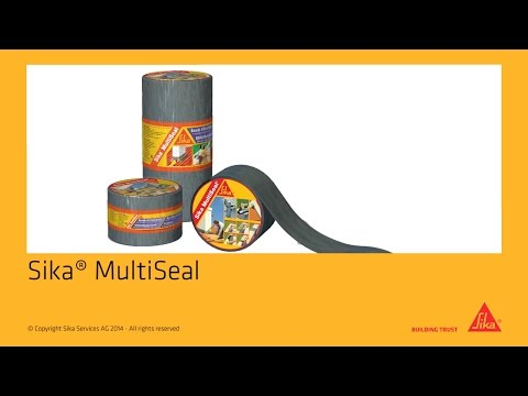 instructievideo Sika Multiseal 75mm Rol 10mtr