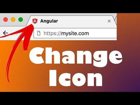 How to SET your website ICON in Angular