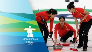 China Vs Switzerland - Womens Curling - Bronze Medal Contest - Vancouver 2010 Winter Olympic Games