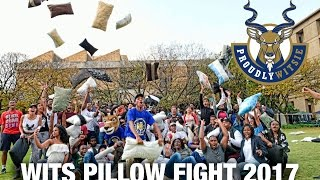 An age old Witsie tradition The annual Wits University pillow fight: