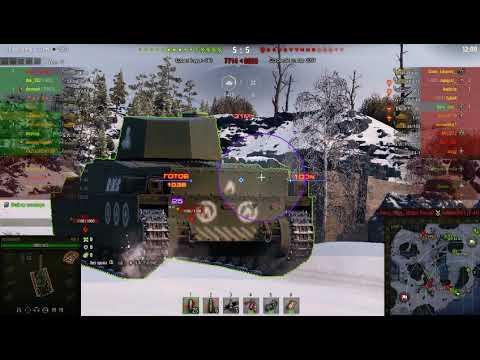 World Of Tanks 2019 карта Линия Маннергейма, убийца арты