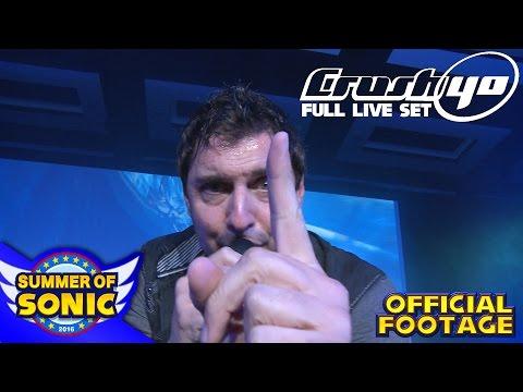 Crush 40 : Official Full Live Performance – Summer of Sonic 2016