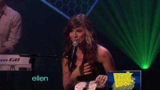 Christina Perri - Arms (Live on Ellen DeGeneres 05-13-2011) [HD]