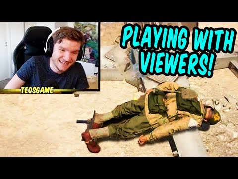 Teo plays with viewers in Battalion 1944