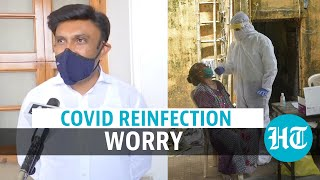 Covid reinfection: Bengaluru woman recovers then tests positive; govt calls meet - Download this Video in MP3, M4A, WEBM, MP4, 3GP