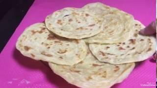 خبز البراتا الهندي بزيت الزيتون....اعمليه قبل العيد هيعجب عائلتك.....تعليم الطبخ للمبتدئات