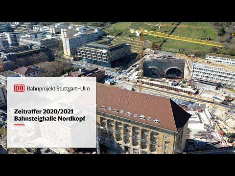 Bahnsteighalle Nordkopf - Zeitrafferfilm...