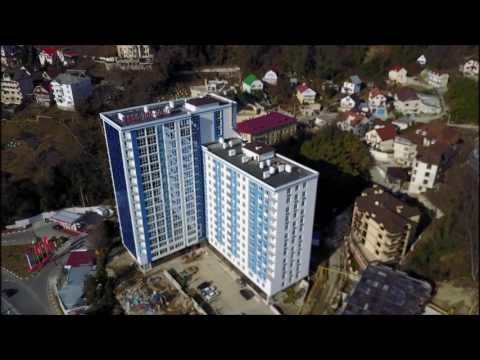 ЖК АРД Хаус Сочи ARD HOUSE || Обзор новостройки с квадрокоптера