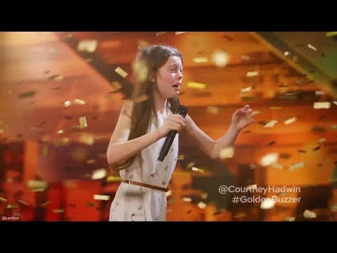 13 Year Old Singing Like a Lion Earns Howie's Golden Buzzer America's Got Talent (видео)