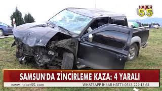 KONROLDEN ÇIKAN KAMYONET KARŞI ŞERİDE FIRLADI