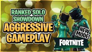 Ranked Solo Showdown - Aggressive Gameplay (Fortnite Battle Royale)